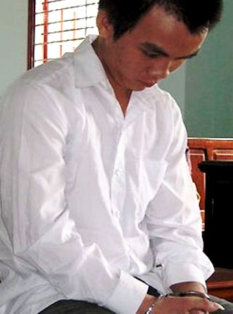 Trần Thanh Trung tại tòa