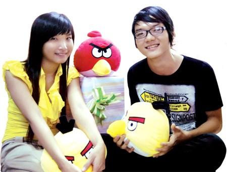 Kim Hồng và Quang Vinh
