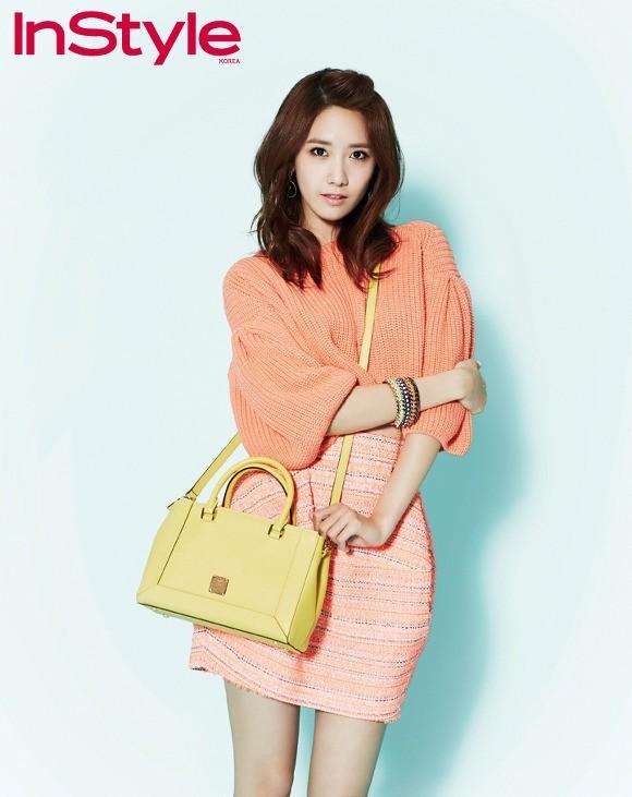 YoonA phong cách trên tạp chí InStyle - ảnh 4