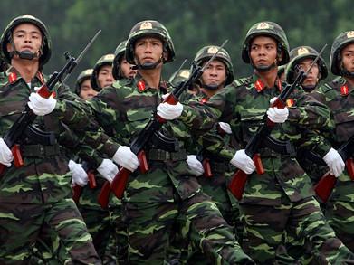 Lực lượng vũ trang đặt dưới sự lãnh đạo của Đảng