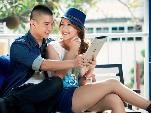 Hotgirl Chi Pu tình tứ bên hotboy Cường Seven - ảnh 8