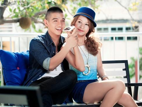 Hotgirl Chi Pu tình tứ bên hotboy Cường Seven - ảnh 3