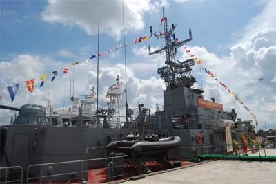 Tàu pháo số 2 đã được đóng thành công tại Công ty đóng tàu Hồng Hà và bàn giao cho Quân chủng Hải quân trước đây