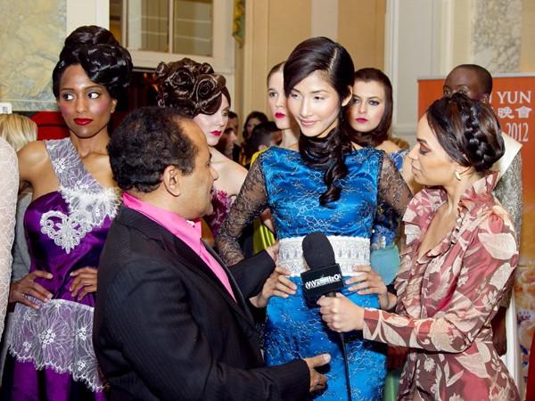 Hoàng Thùy lọt mắt xanh 'cha đẻ' Couture Fashion Week - ảnh 15