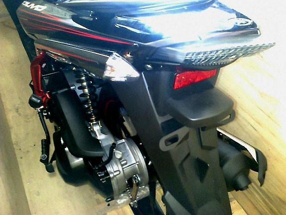 Yamaha Nouvo Lx Fi: Chiến mã sắp cất cánh - ảnh 5