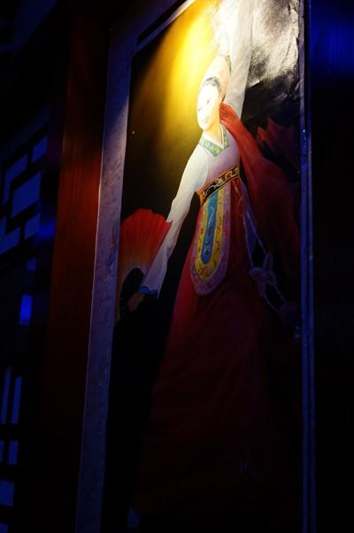 Bức tranh thể hiện văn hóa con người và đất nước Triều Tiên