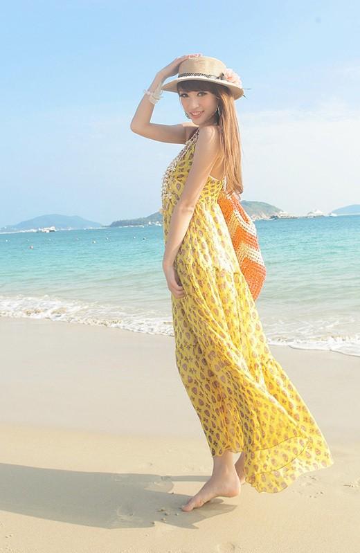 Váy maxi tung tăng đón nắng hè - ảnh 18