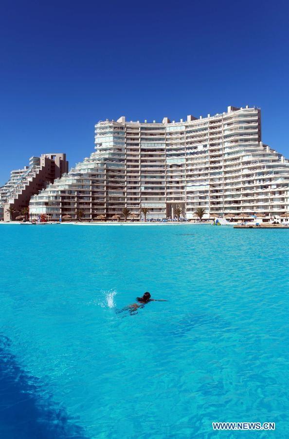 Chiêm ngưỡng bể bơi 'khủng' nhất thế giới - ảnh 2