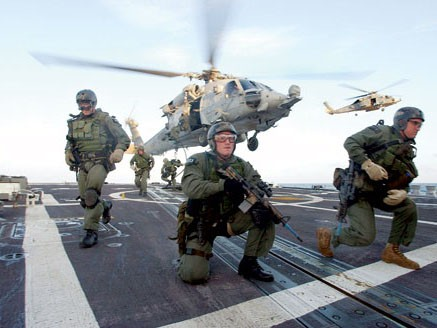 Các thành viên SEAL Đội sáu.  Ảnh: US Navy
