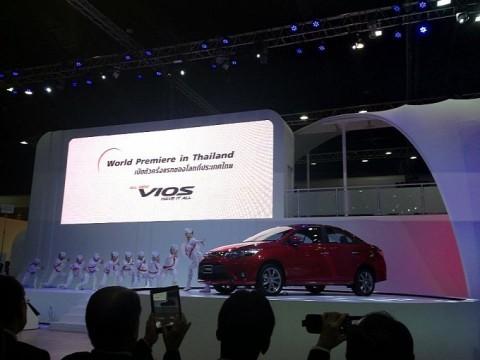Toyota Vios 2013 ra mắt tại Thái Lan - ảnh 2