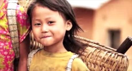 Hình ảnh trẻ em miền quê Việt Nam