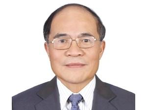 Đồng chí Nguyễn Sinh Hùng. Ảnh: TTXVN