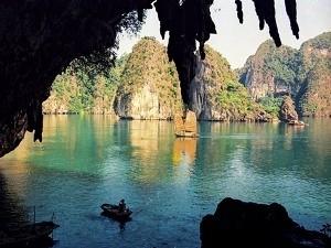 Một góc Vịnh Hạ Long (Ảnh: Nguyễn Thịnh)