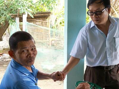 Anh Bảy Què – người bạn tàn tật ngồi chung bàn năm xưa với nhà văn Nguyễn Nhật Ánh