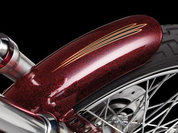 Cận cảnh Harley-Davidson XL883L Seventy-Two - ảnh 15