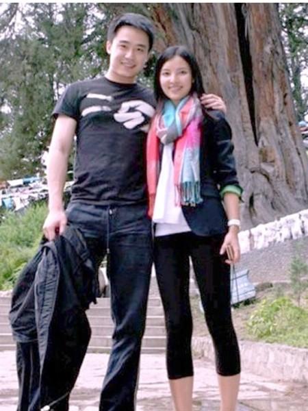 Với bạn gái Trần Hiểu Đan