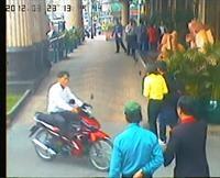 Hình ảnh của chiếc xe cùng với tên Thành- người lừa chiếc xe máy của Nhiễm.