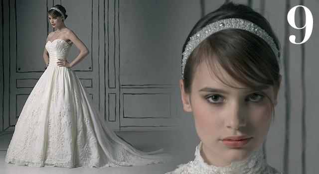 Mười kiểu tóc cô dâu 'hot' năm 2011 - ảnh 8