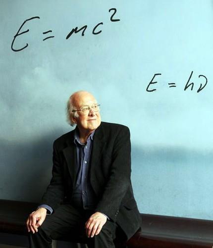 Giáo sư vật lý người Anh Peter Higgs, người được đặt tên cho hạt Higgs