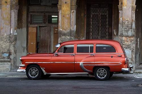 Xế cổ tại thủ đô Cuba - ảnh 7