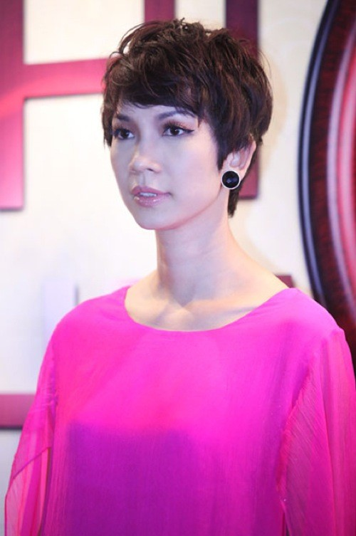Những mái tóc tém 'thương hiệu' của sao Việt - ảnh 3