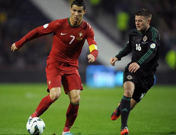 Cris Ronaldo - Đội trưởng ĐT Bồ Đào Nha