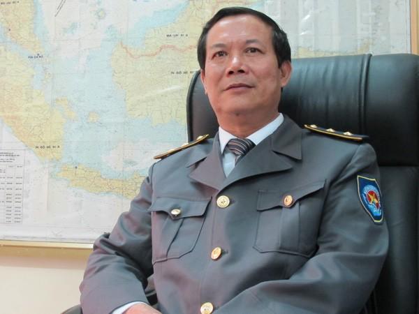 Cục trưởng Cục Kiểm ngư Nguyễn Ngọc Oai. Ảnh: Phạm Anh