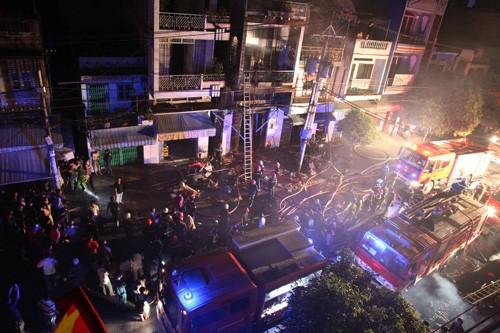 Vụ cháy đã làm 3 người thiệt mạng