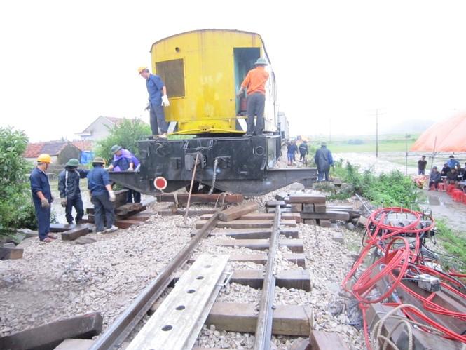 Lúc 6h sáng nay, đường sắt Bắc Nam đã hoạt động bình thường