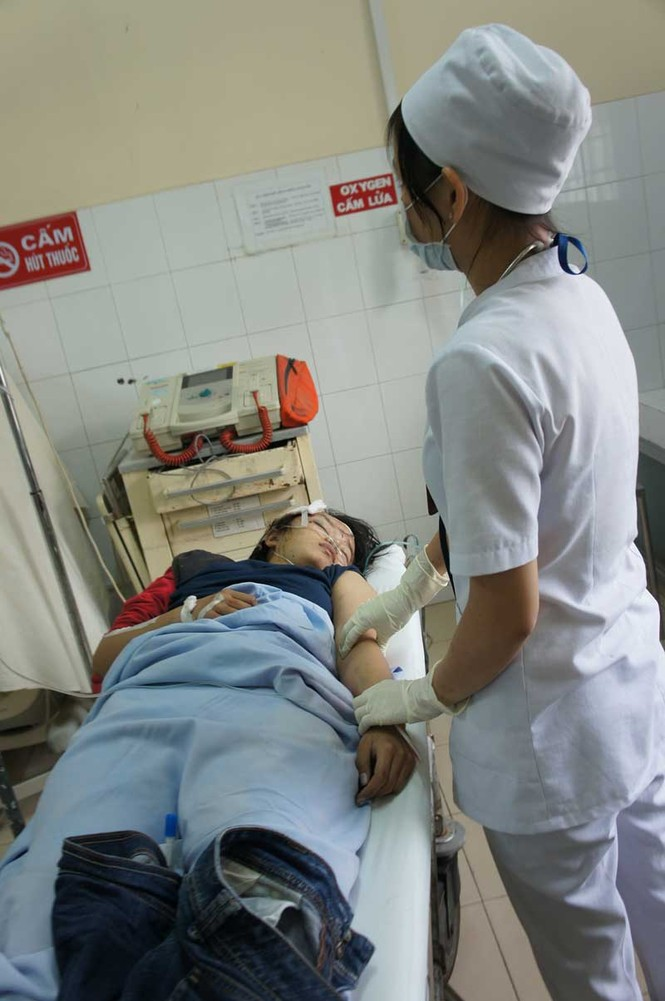 Vụ tai nạn khiến nhiều người bị thương