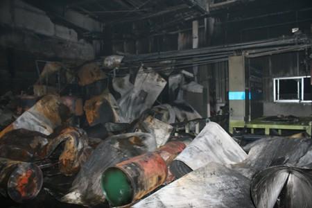 Cháy lớn tại khu công nghiệp Quang Minh - ảnh 3