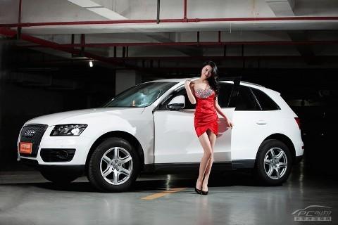 Chân dài đọ nhan sắc với xế hộp Audi - ảnh 1