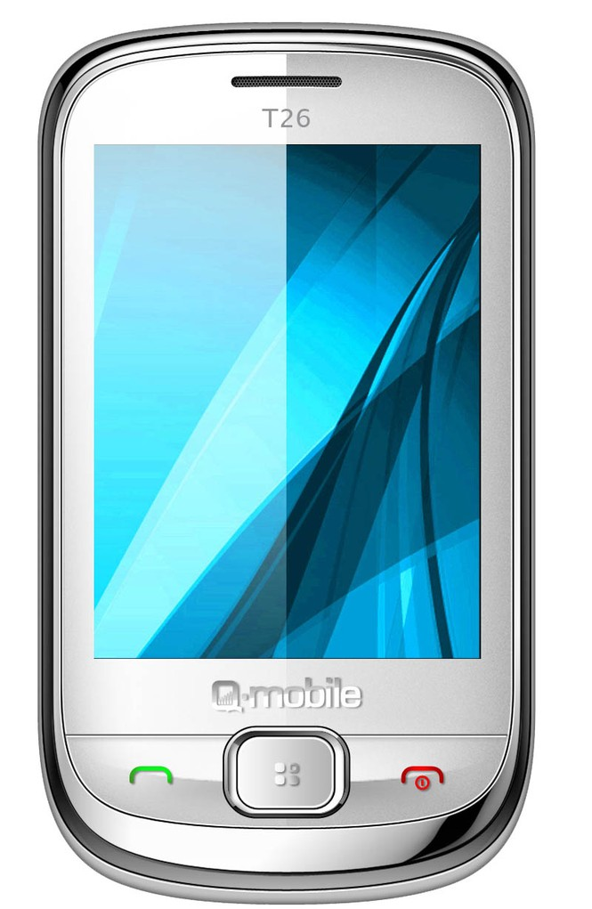 Q-mobile T26: Hòa cùng xu hướng cảm ứng - ảnh 1