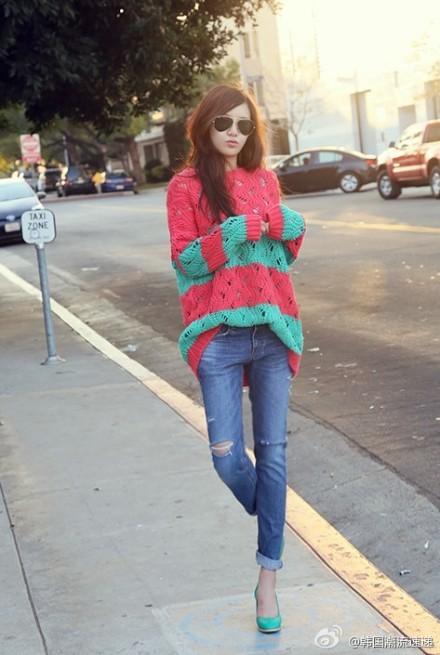 Cuối tuần xuống phố cực chất với quần jeans - ảnh 21