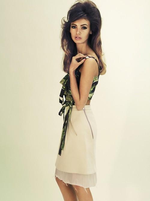 Nét đẹp cổ điển và hiện đại của 'Kate Moss' thứ hai - ảnh 8