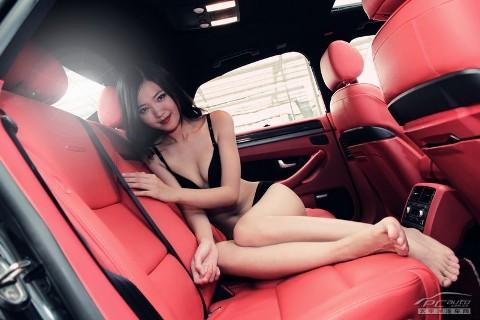 Mỹ nữ quyến rũ bên Audi A8L - ảnh 13