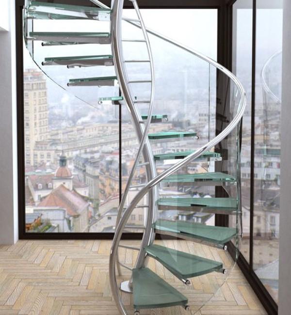 Những mẫu cầu thang đẹp lung linh - ảnh 4