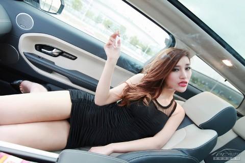 Chân dài cực nóng bên Range Rover Evoque (Phần II) - ảnh 9