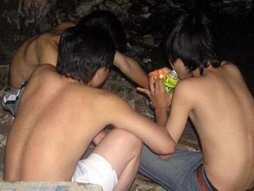 Hút bồ đà đang trở thành một thú vui mới của giới trẻ Quảng Nam thay vì thuốc lá đầu lọc