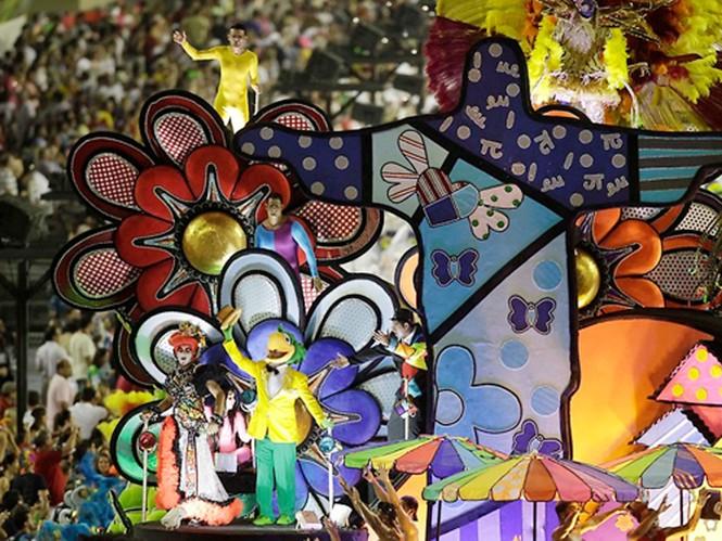 Tưng bừng lễ hội Carnival lớn nhất hành tinh - ảnh 7