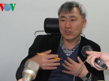 Giáo sư Kim Joong Soon, Phó Hiệu trưởng trường Đại học Inha (Hàn Quốc)
