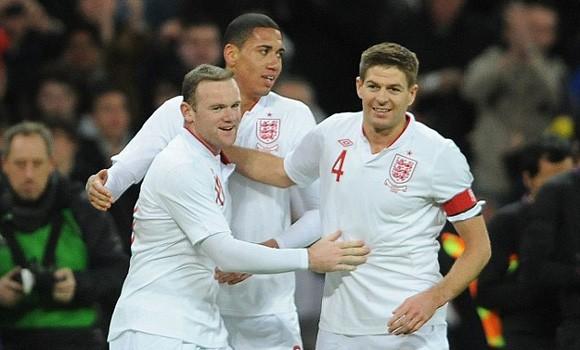 Rooney và Gerrard là những niềm hy vọng của ĐT Anh