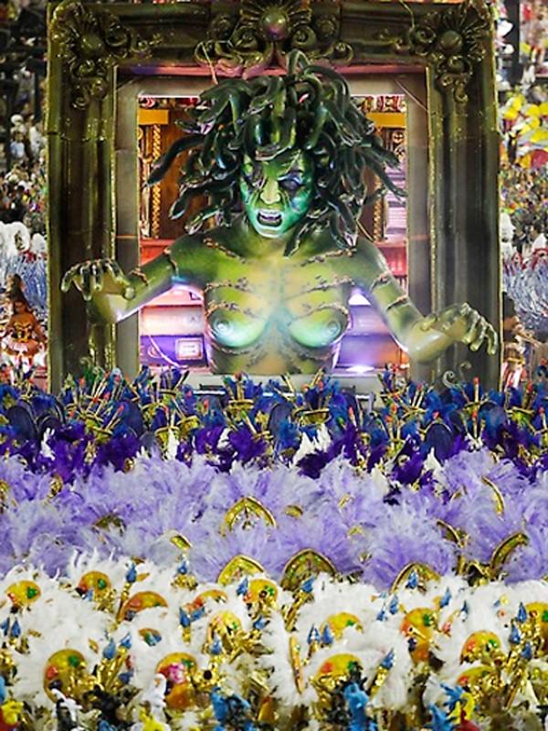 Tưng bừng lễ hội Carnival lớn nhất hành tinh - ảnh 13