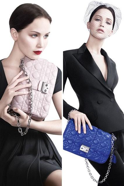 Jennifer Lawrence đẹp kiêu sa trên trong shoot hình của Dior