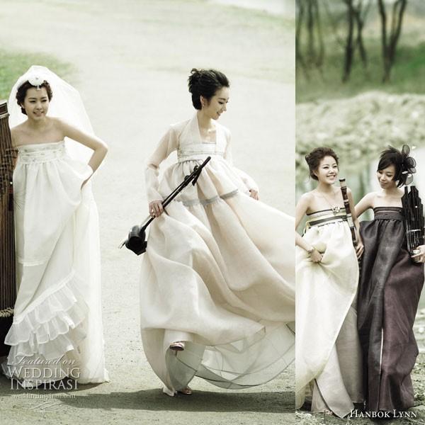 Quyến rũ trang phục cưới Hanbok hiện đại - ảnh 4