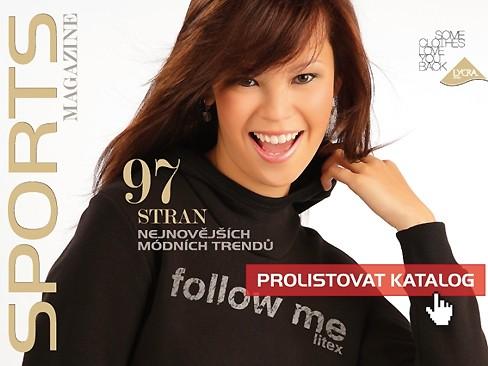 Monika trên trang bìa tạp chí thể thao