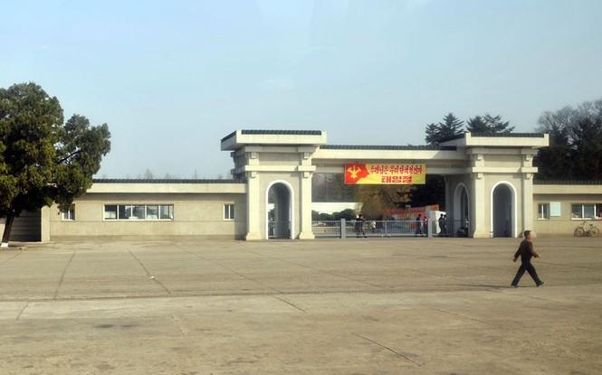 Lối vào sở thú tại thủ đô Bình Nhưỡng