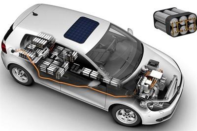 Hình ảnh đầu tiên của Volkswagen Golf chạy điện - ảnh 3