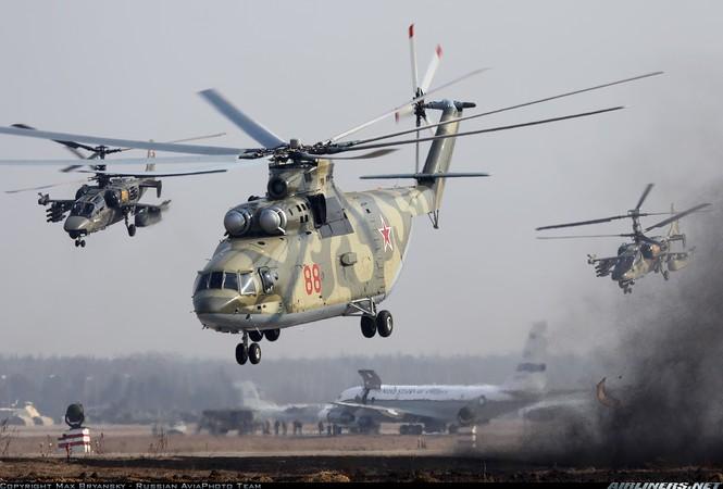 Máy bay vận tải hạng nặng MI-26