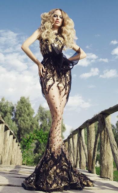 Siêu quyến rũ với đầm dạ hội Shady Zeineldine - ảnh 8